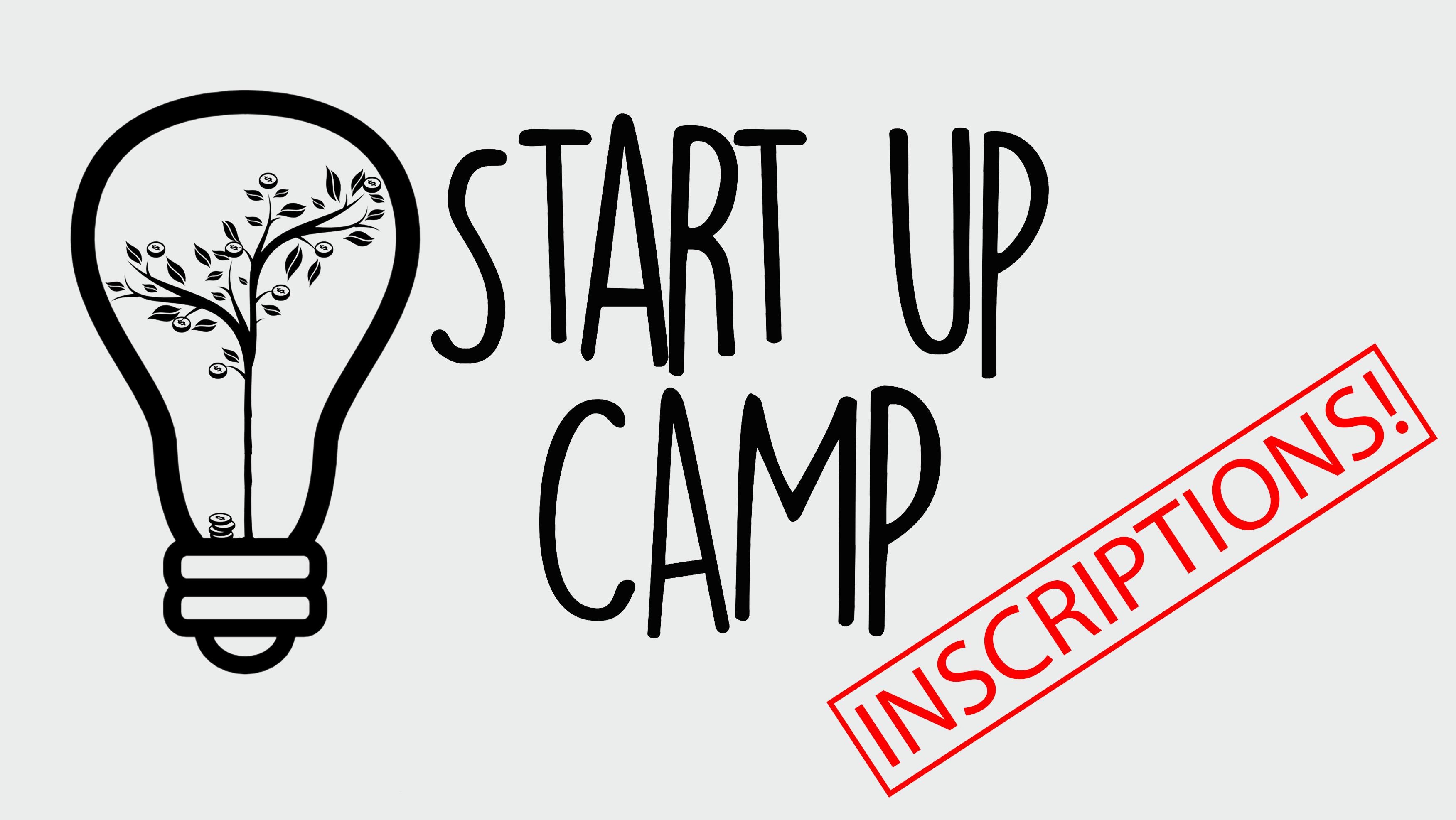 Inscriptions Start Up Camp 2018